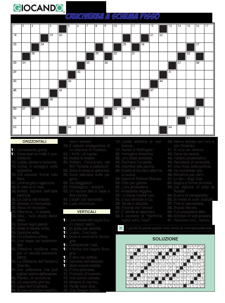 Download for Enigmistica facile da stampare